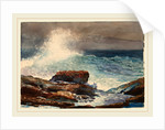 Incoming Tide, Scarboro, Maine, 1883 by Winslow Homer