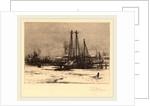 Winter Quarters-Cape Ann by Prosper Louis Senat