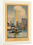 The Woolworth Building from the Ferry by Rachael Robinson Elmer