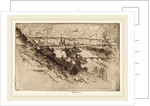 Rouen, from Bon Secours by Joseph Pennell