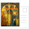 The Annunciation by Masolino da Panicale