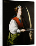 Saint Lucy by Francisco de Zurbarán
