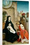 The Adoration of the Magi by Juan de Flandes