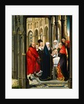"""The Presentation in the Temple, Netherlandish by Master of the Prado """"Adoration of the Magi"""""""