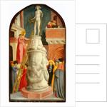 Saint Apollonia Destroys a Pagan Idol by Giovanni d'Alemagna
