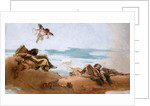 Study for a Ceiling with the Personification of Counsel by Giovanni Battista Tiepolo