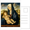 Madonna and Child in a Landscape by Workshop of Giovanni Bellini