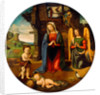 The Nativity with the Infant Saint John by Piero di Cosimo