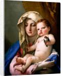 Madonna of the Goldfinch by Giovanni Battista Tiepolo