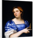 Portrait of a Young Woman as a Wise Virgin by Sebastiano del Piombo