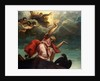 Saint John the Evangelist on Patmos by Titian