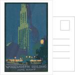 Woolworth Building June Night by Rachael Robinson Elmer