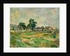 Landscape near Paris, c. 1876 by Paul Cézanne