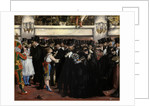 Masked Ball at the Opera, 1873 by Edouard Manet