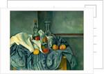 The Peppermint Bottle by Paul Cézanne