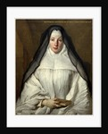 Elizabeth Throckmorton, Canoness of the Order of the Dames Augustines Anglaises, 1729 by Nicolas de Largillierre