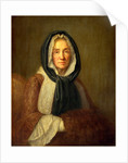 Old Woman with a Muff, second half 18th century by Anonymous