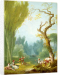 A Game of Horse and Rider by Jean-Honoré Fragonard