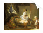 The Visit to the Nursery, c. 1775 by Jean-Honoré Fragonard