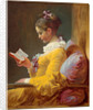Young Girl Reading, c. 1770 by Jean-Honoré Fragonard