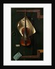 American, The Old Violin, 1886 by William Michael Harnett