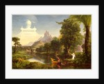 American, The Voyage of Life: Youth, 1842 by Thomas Cole