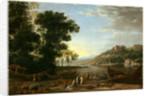 Landscape with Merchants, c. 1629 by Claude Lorrain