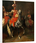 Mounted Trumpeters of Napoleon's Imperial Guard by Théodore Gericault
