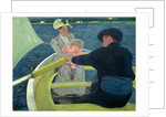 American, The Boating Party by Mary Cassatt