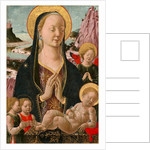Madonna and Child with Angels by Anonymous