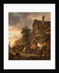 Dutch, Workmen before an Inn, 1645 by Isack van Ostade