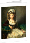 Madame d'Aguesseau de Fresnes, 1789 by Elisabeth-Louise Vigée Le Brun