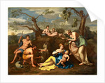 Nymphs Feeding the Child Jupiter, c. 1650 by Follower of Nicolas Poussin