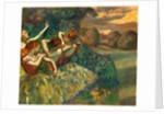 Four Dancers, c. 1899 by Edgar Degas