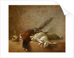 Still Life with Game, probably 1750s by Jean Siméon Chardin