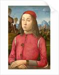 Italian, Portrait of a Youth by Agnolo di Domenico del Mazziere