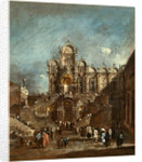 Italian, Temporary Tribune in the Campo San Zanipolo, Venice, 1782 or after by Francesco Guardi