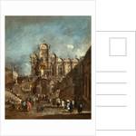 Italian, Temporary Tribune in the Campo San Zanipolo, Venice, 1782 or after by Francesco Guardi