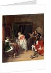 Dutch, The Intruder, c. 1660 by Gabriel Metsu