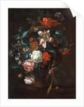 Dutch, Flowers in a Vase, c. 1700 by Philip van Kouwenbergh