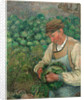 The Gardener-Old Peasant with Cabbage by Camille Pissarro