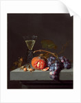 Dutch, Still Life with Fruit, 1675 by Jacob van Walscapelle