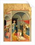 Italian, The Nativity of the Virgin, c. 1400 by Andrea di Bartolo