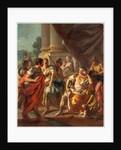 Alexander Condemning False Praise, 1760s by Francesco de Mura
