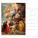 The Assumption of the Virgin, probably mid 1620s by Studio of Sir Peter Paul Rubens