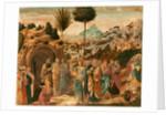 The Raising of Lazarus by Benozzo Gozzoli