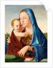 Madonna and Child by Antonello da Messina