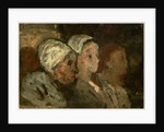 In Church by Honoré Daumier