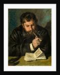 Claude Monet, 1872 by Auguste Renoir