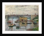 Bridge at Argenteuil on a Gray Day, c. 1876 by Claude Monet